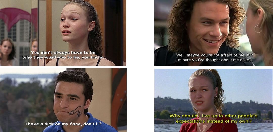 Movies Love Quotes 10 Things I Hate About You: Film Night - Ten Things I Hate About You