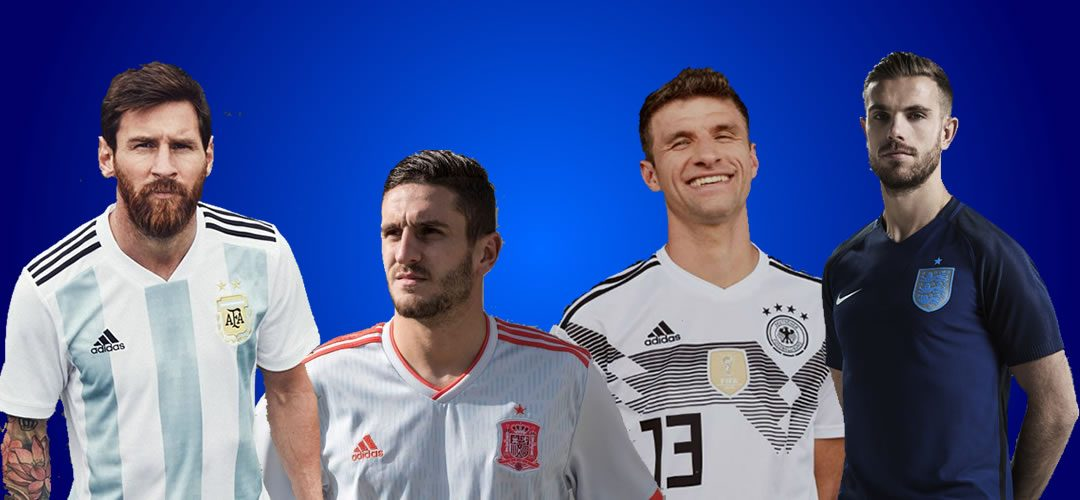 Every World Cup 2018 Football Shirt Home And Away