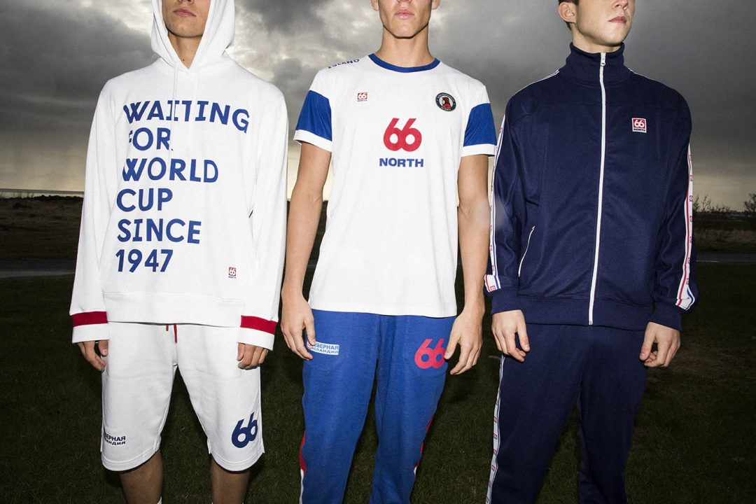 66 Degrees North World Cup Capsule Collection