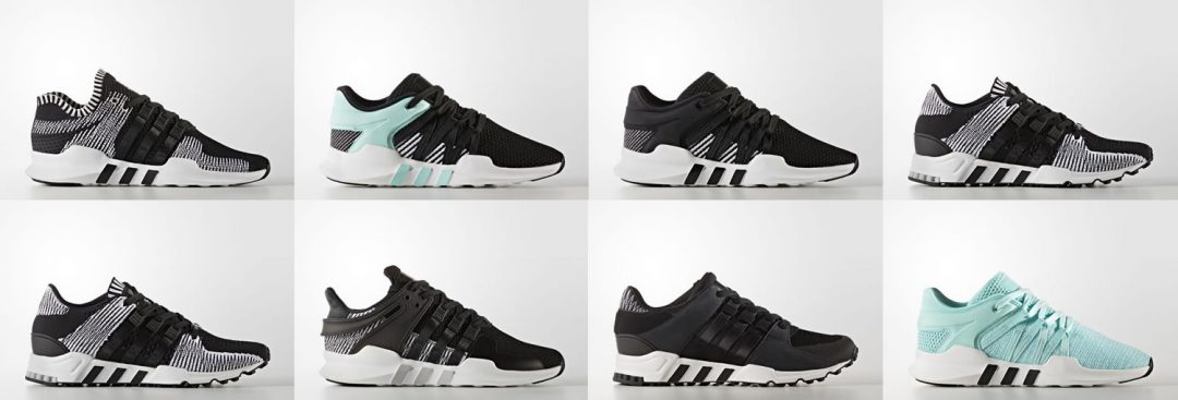 Adidas Originals EQT Trainers For AW17