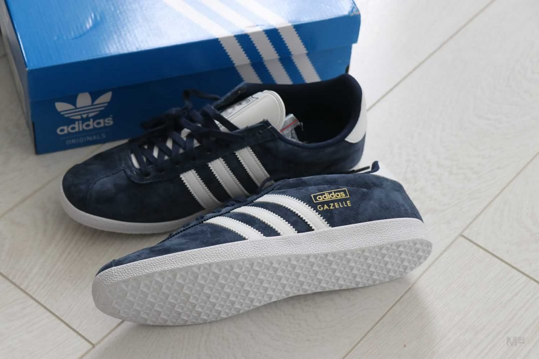 New In My Wardrobe: Adidas Gazelle OG Trainers In Navy | Michael 84