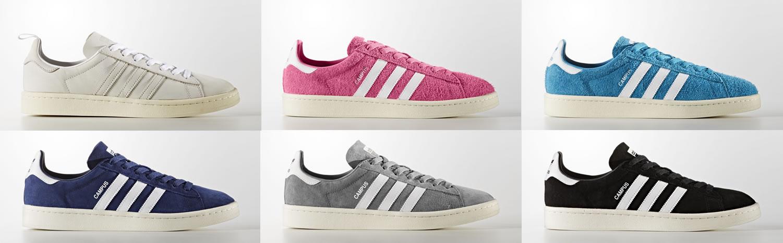 online store 2135e 8c687 All the Adidas Originals Campus shoes