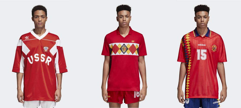 Adidas Originals Retro World Cup Shirts