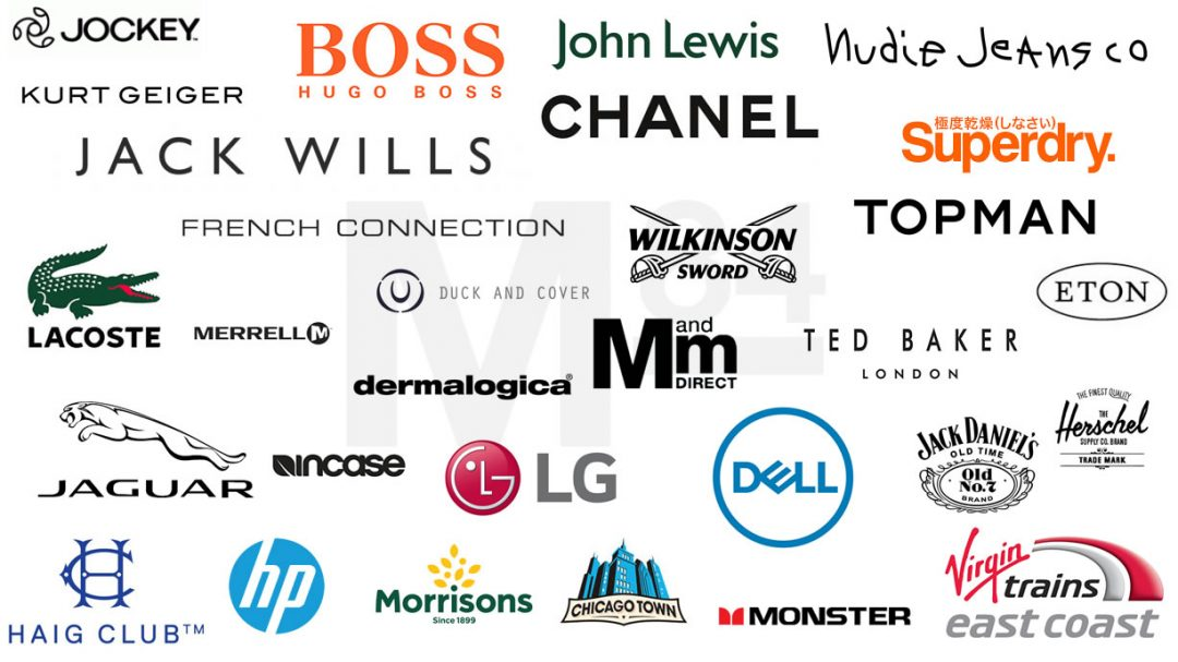 A small selection of advertisers and partners of Michael84