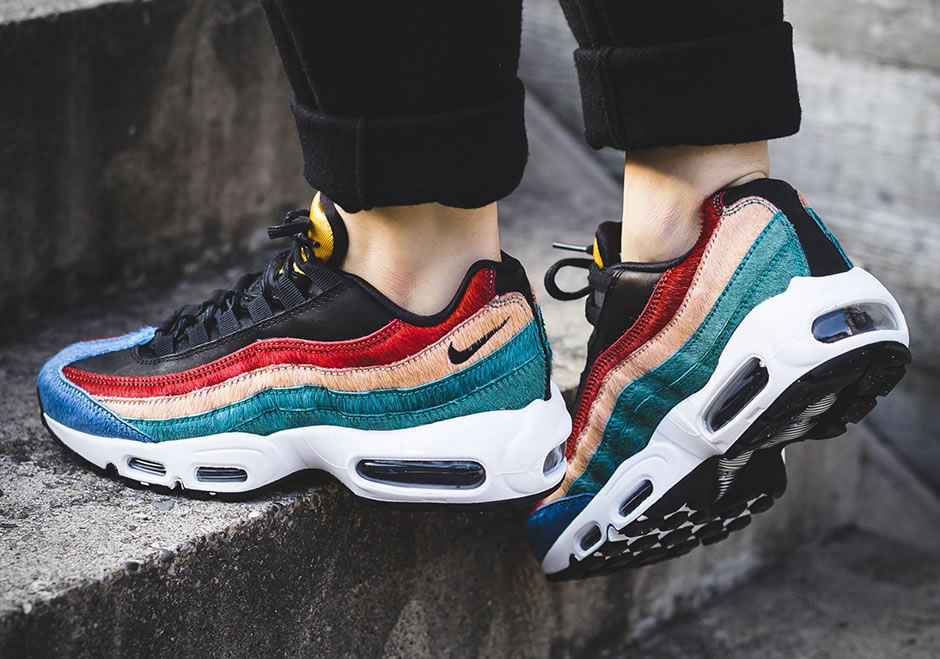 nike air max 95 pony hair christmas