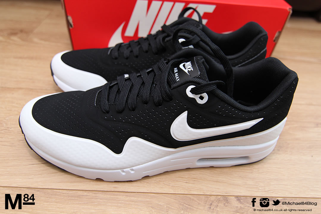 new in nike air max 1 ultra moire trainers michael 84. Black Bedroom Furniture Sets. Home Design Ideas