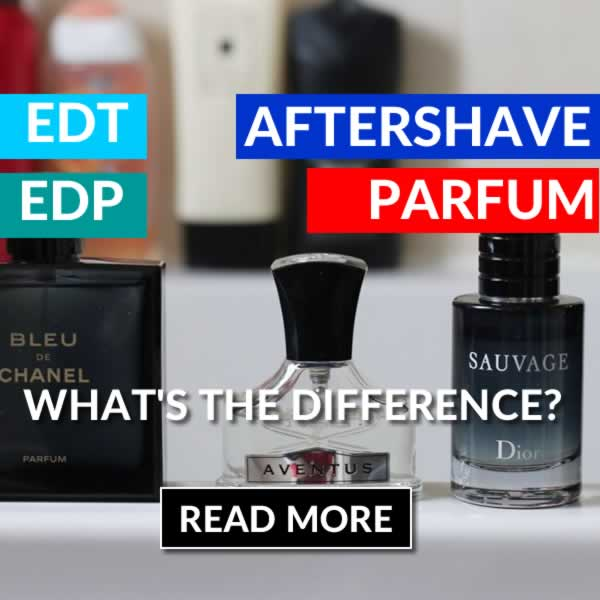 What's The Difference Between Perfume And Aftershave