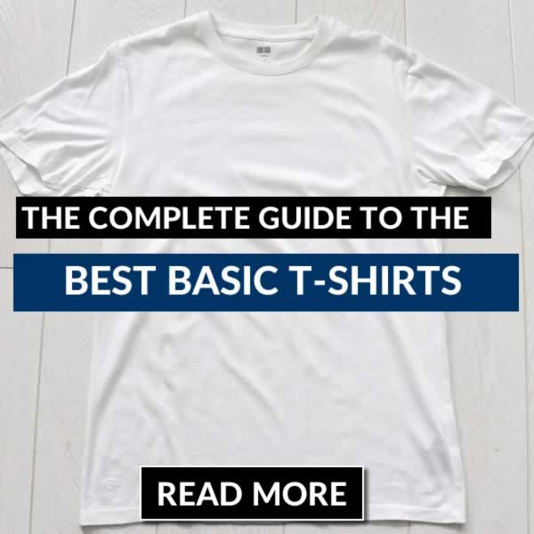 The complete guide to the best basic t shirts