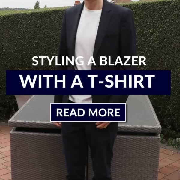 How To Style A Blazer With A T-Shirt - Outfit Combinations