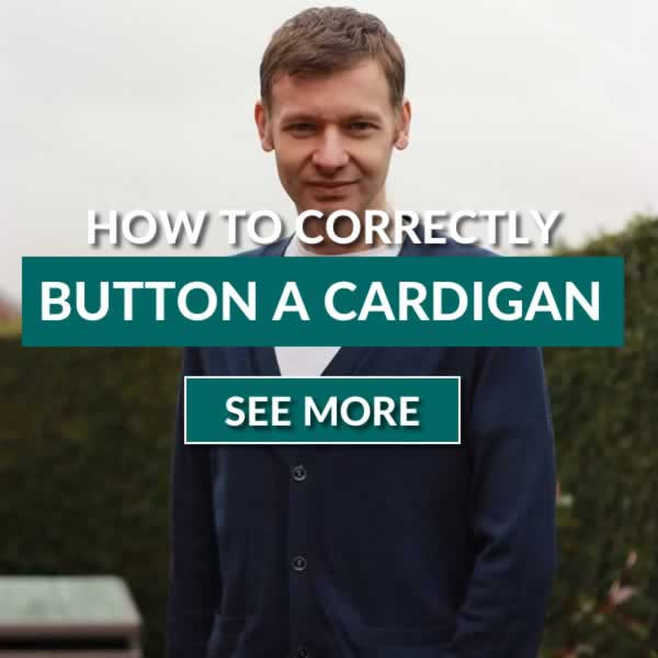 How To Button A Cardigan Correctly