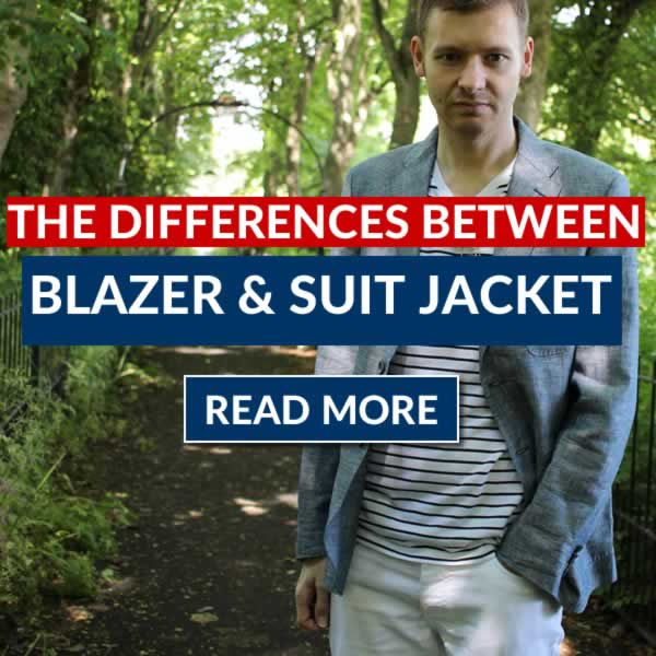 The Differences Between Blazers And Suit Jackets