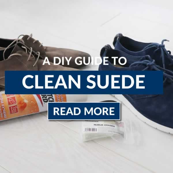 THE DIY Guide To Cleaning Suede Shoes And Jackets