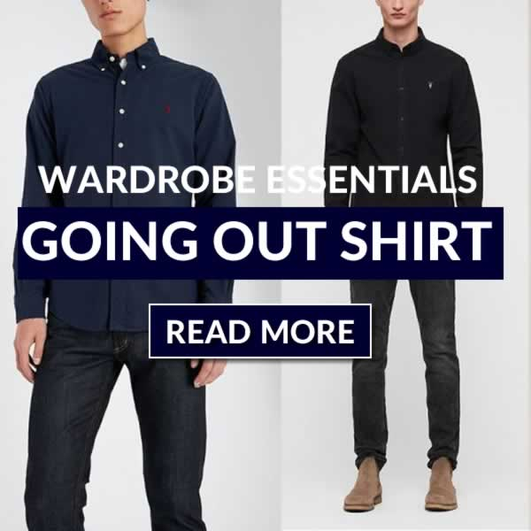 The Going Out Shirt - How To Choose The Best Shirt For A Night Out