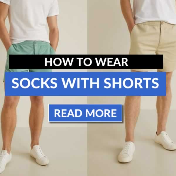 How To Wear Shorts With Socks - Mens Style Guide
