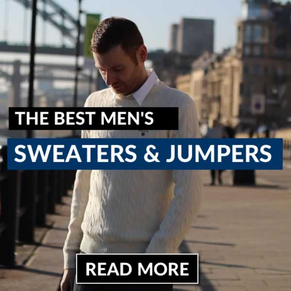 The Best Men's Jumpers And Sweaters Guide You'll Read