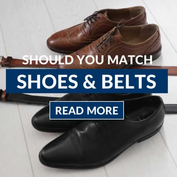 Should You Match Shoes And Belts (Matching Leathers)