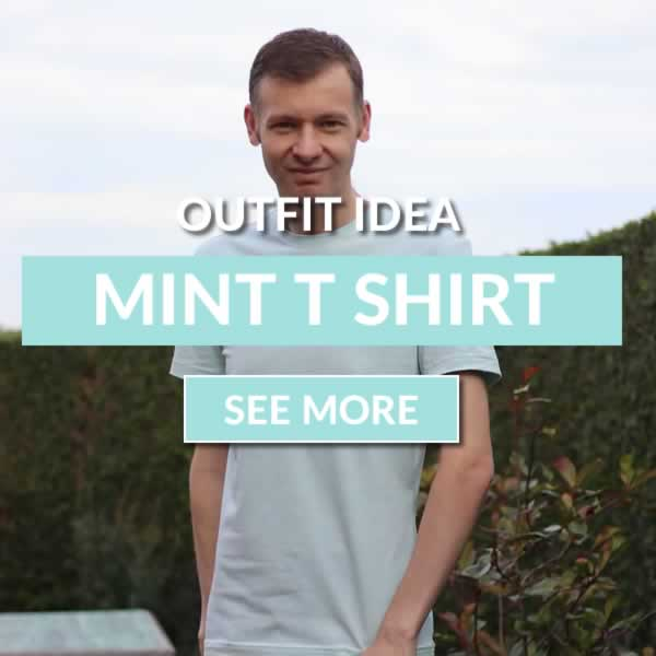 Mint Green T Shirt Outfit Idea