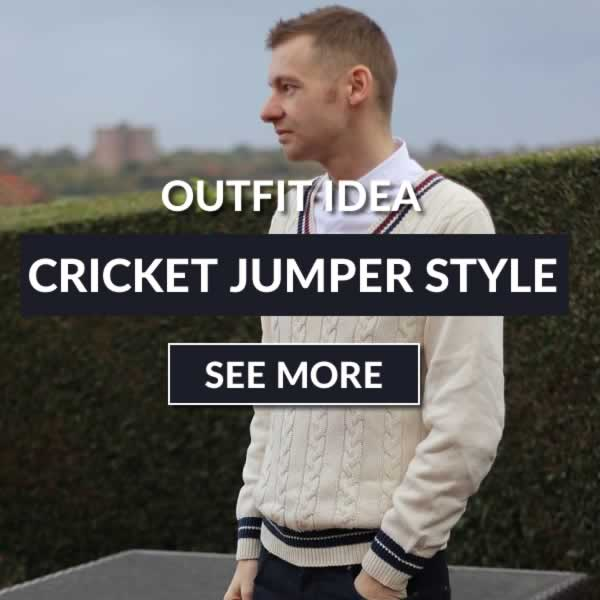 Cricket Jumper Outfit Idea