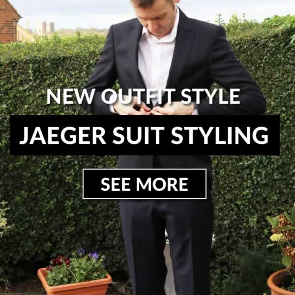 Navy Jaeger Suit Outfit And Review