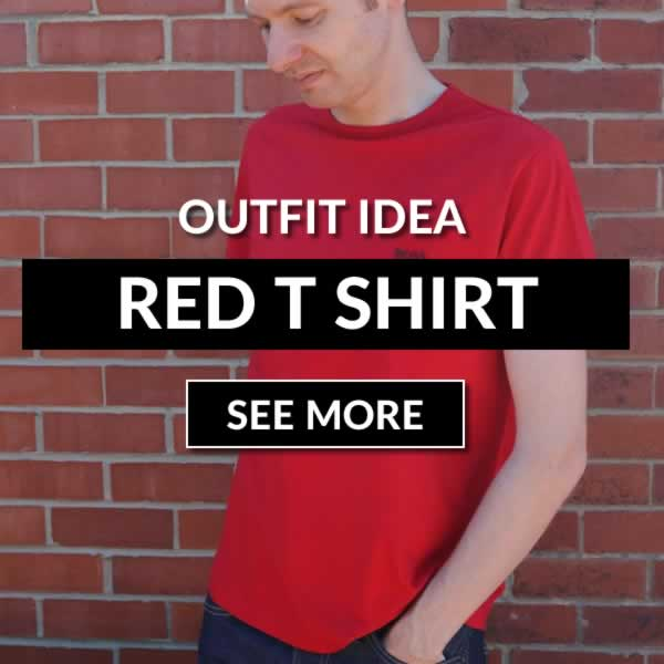 Red T Shirt Outfit