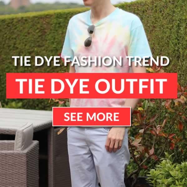 Tie Dye Outfit Idea