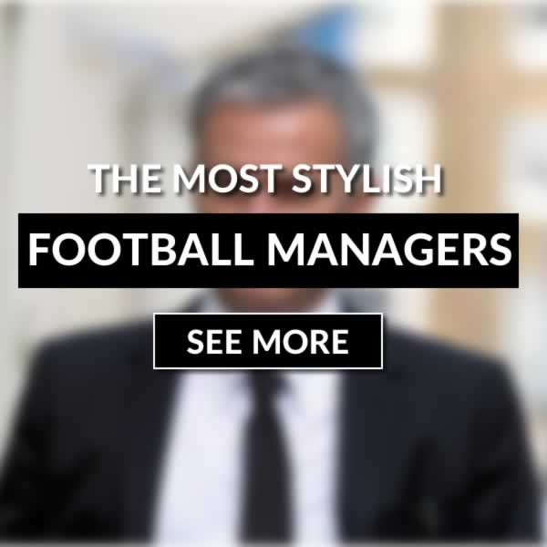 Best Dressed Football Managers