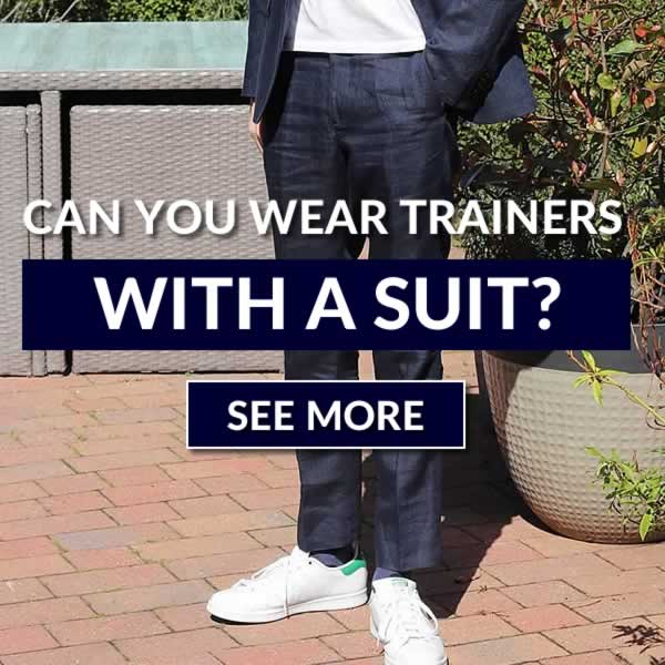 Can You Wear Trainers With A Suit