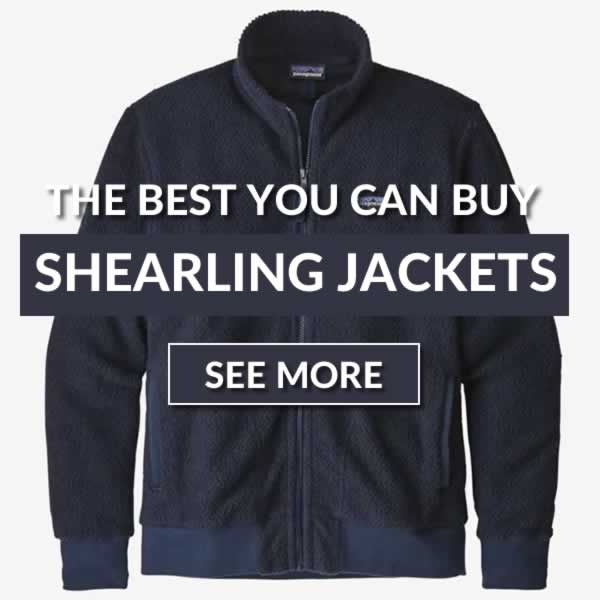 The Best Shearling Jackets For Autumn/Winter