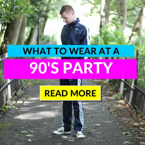 What To Wear To A 90's Party - Mens Outfit Guide