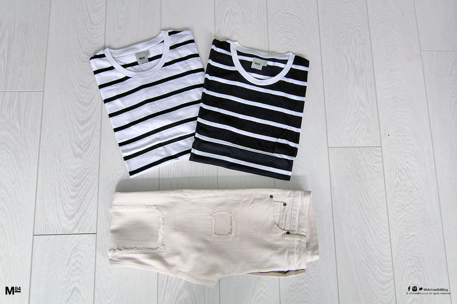 Jeans and nautical T-shirts from ASOS