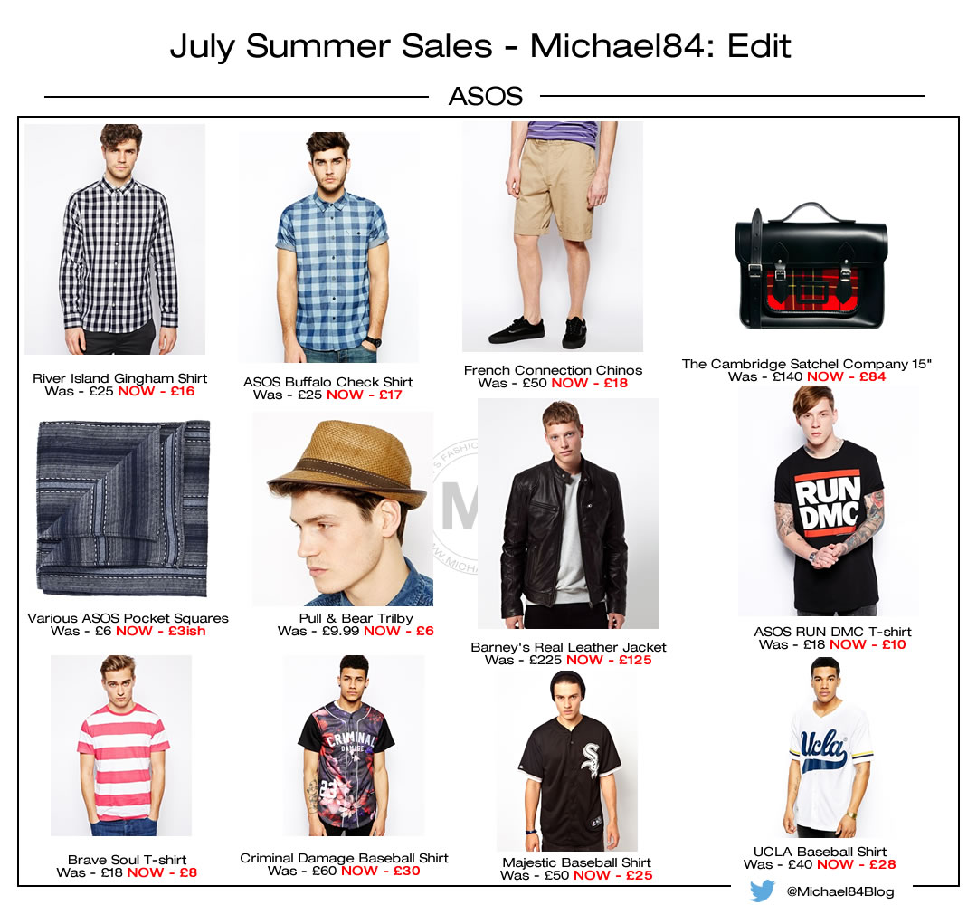 ASOS Summer Sale - July 2014