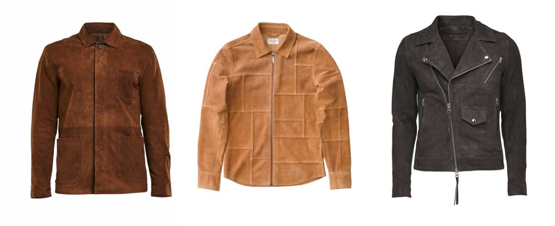 Scandinavian Fashion Suede Jackets For Men For Autumn 2016