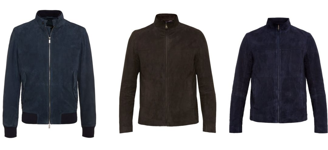 Men's Suede Jackets For Aw16
