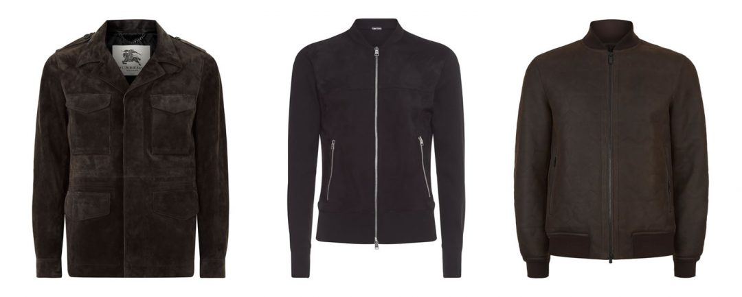 Luxury Men's Suede Jackets From Harrods For Autumn 2016