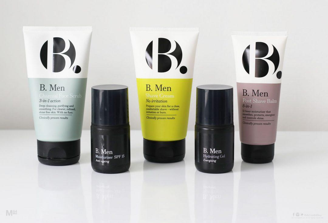 B.Men Skincare Product Range