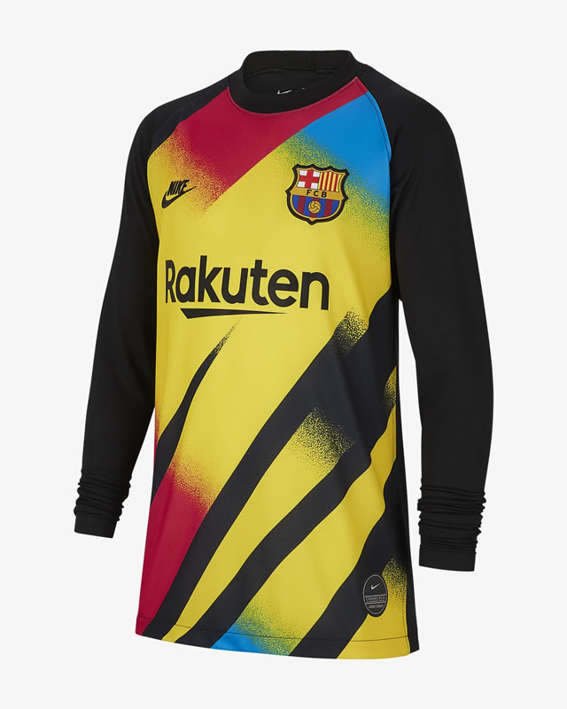 Barcelona 3rd Goalkeeper Shirt By Nike For The Champions League