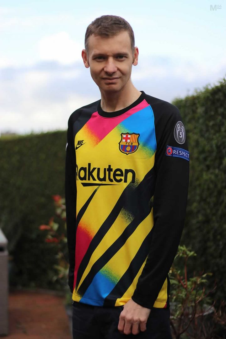 Barcelona Goalkeeper Shirt For 2019-20 Champions League