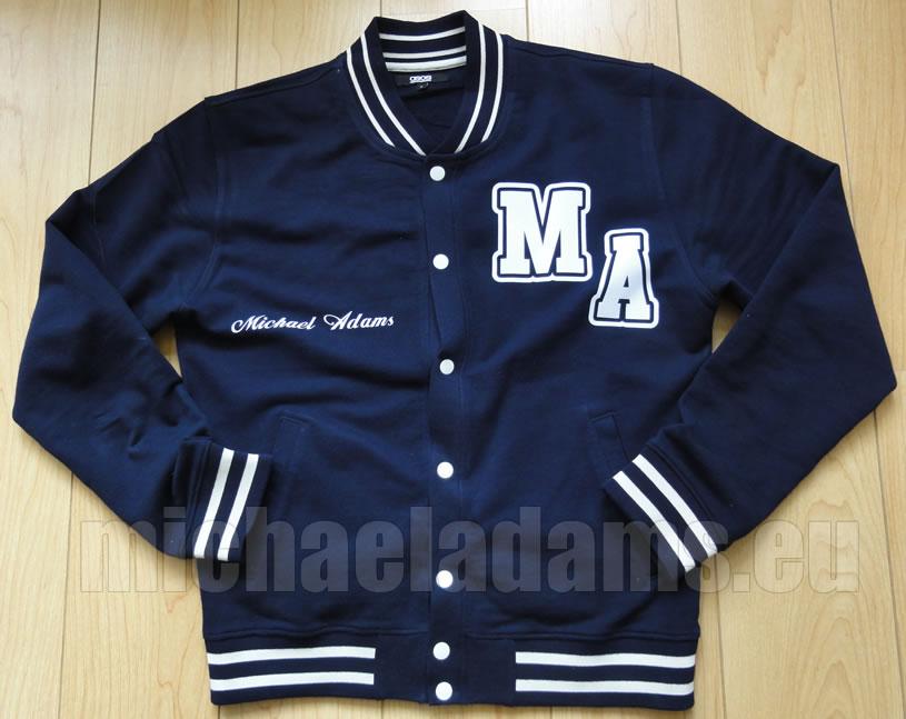 My Baseball Jacket: Custom Made for Me! :) | Michael 84