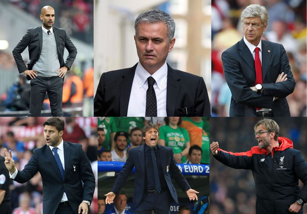 The best dressed English Premier League Managers