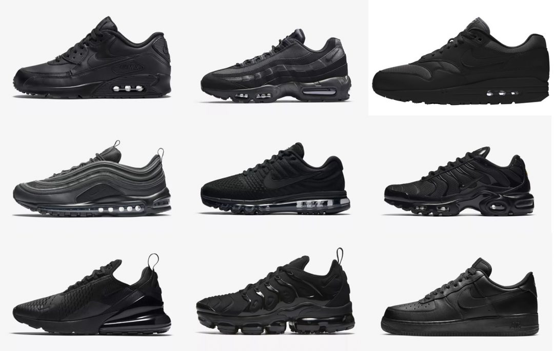 The Best Nike Triple Black Trainers Right Now