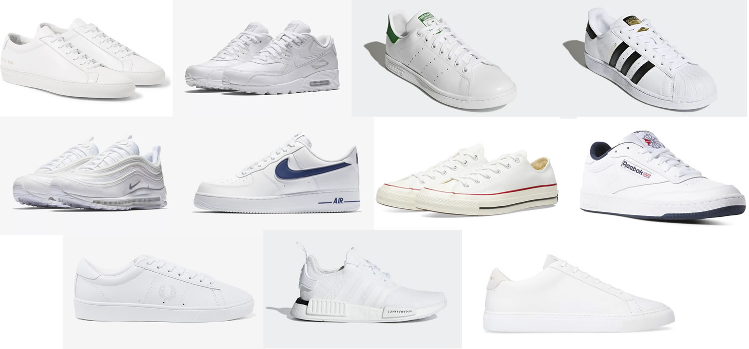 The Best White Trainers For Men - 13