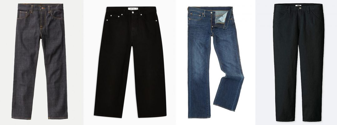 The Best Wide Leg Jeans For Men