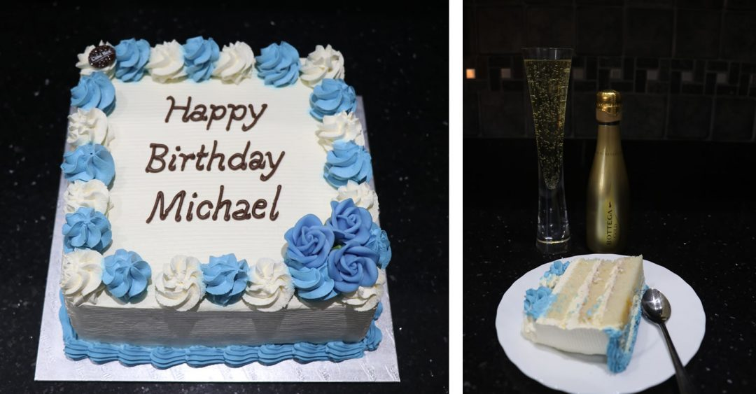 Michael84 Birthday Cake
