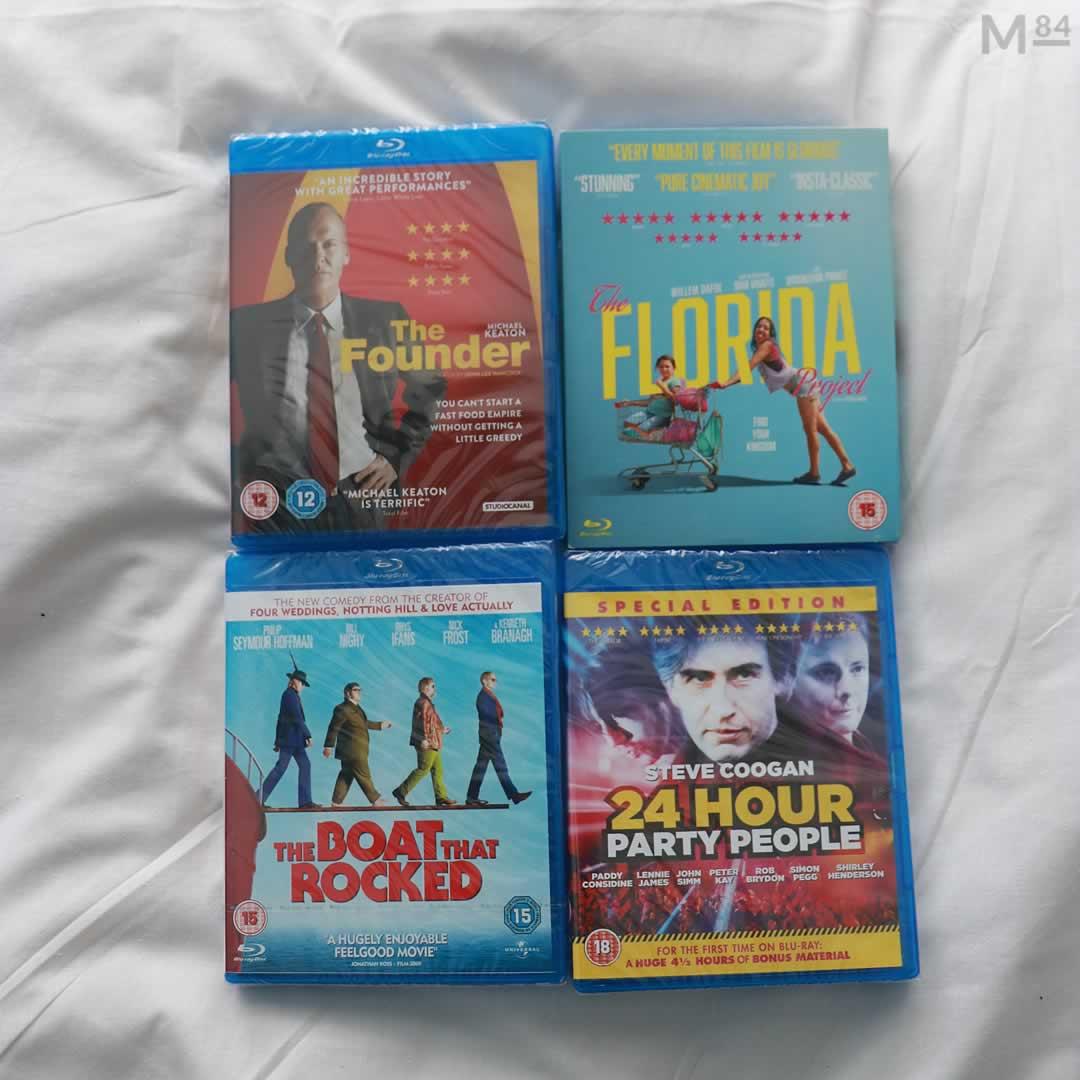 4 New Blu Rays For Film Night
