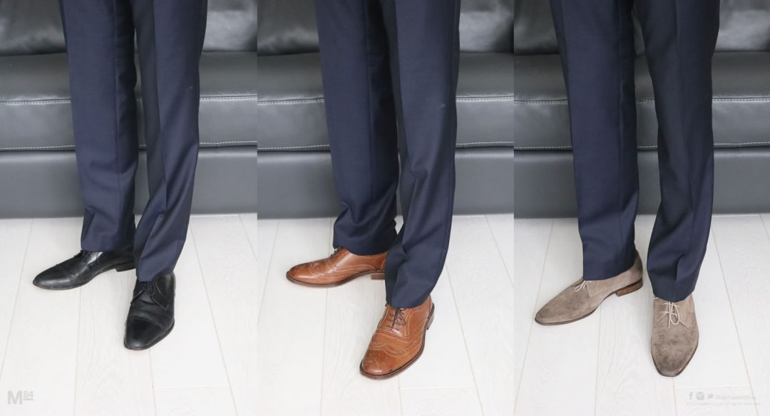 What Colour Shoes To Wear With A Blue Suit With Pictures Examples