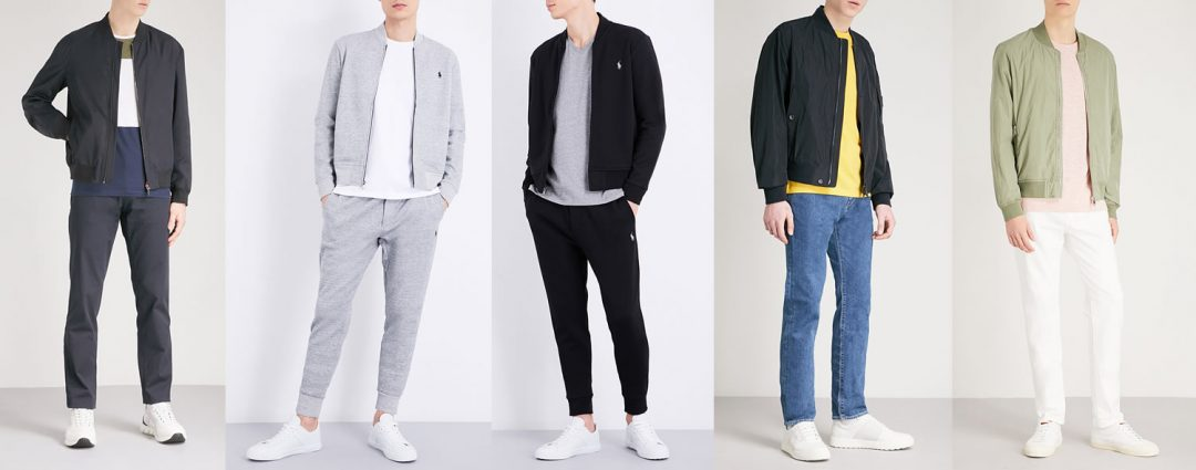 How to style a bomber jacket for men