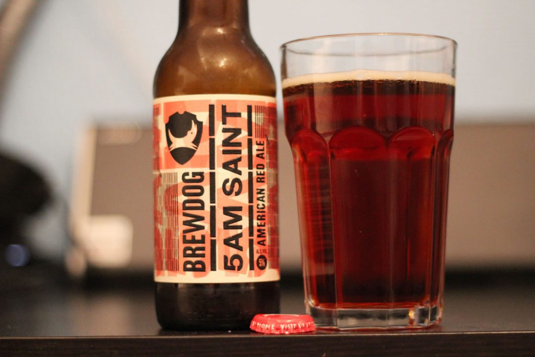 Brewdog 5AM Saint tastes really nice!