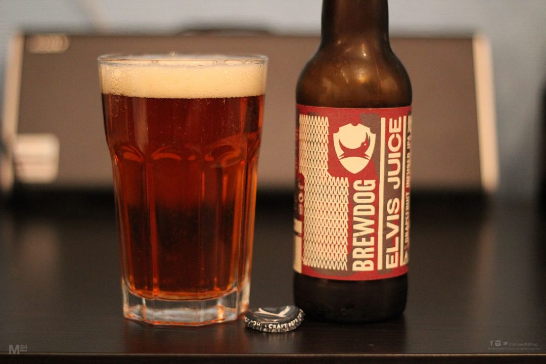 Brewdog Elvis Juice Tasting Review