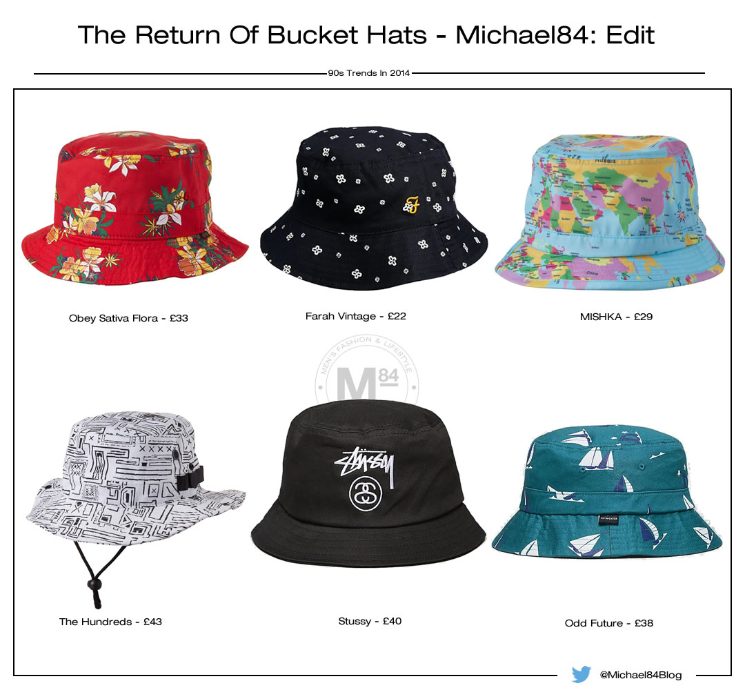 90s Bucket Hats Back In Fashion For 2014 Summer Michael 84