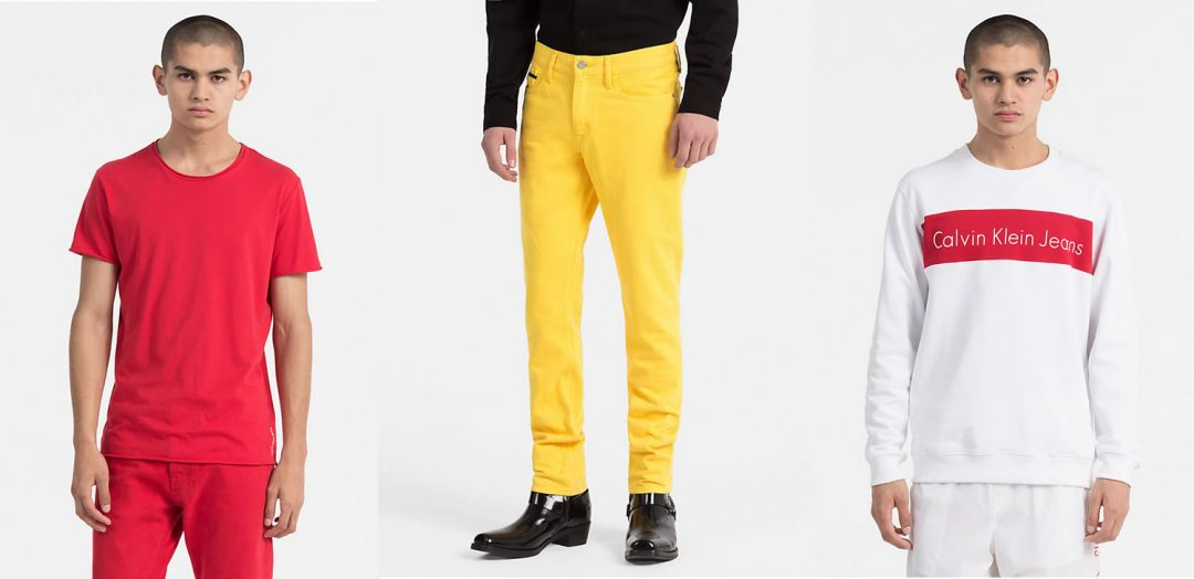 CK True Colours T Shirts And Jeans